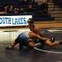Dennis Jimenez takes on a South Lakes opponent.