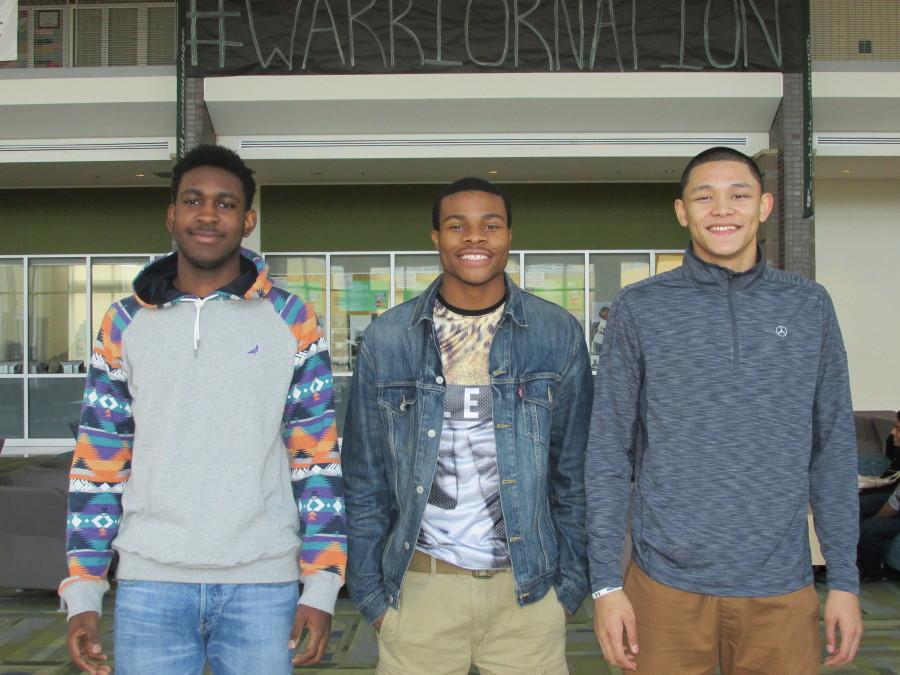 The Big Three Of Wakefield Varsity Basketball