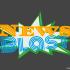News Blast Letters Minimalist