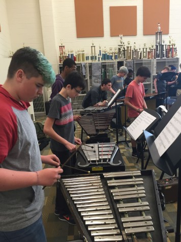 Percussion Class Keeps the Beat