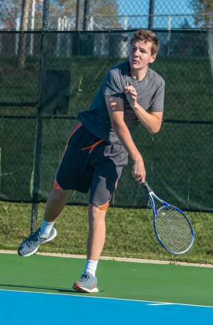 Boys Tennis Is Motivated for Next Season