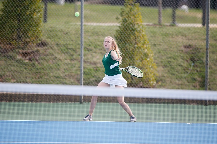 Girls Tennis Builds Confidence Going Into Next Year