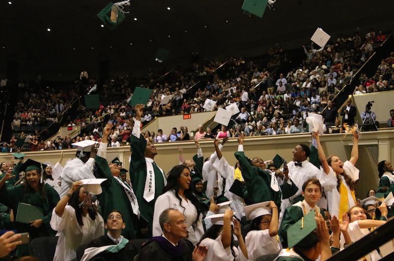 Graduation 2016: Seniors Share Memoriesand Make New Ones