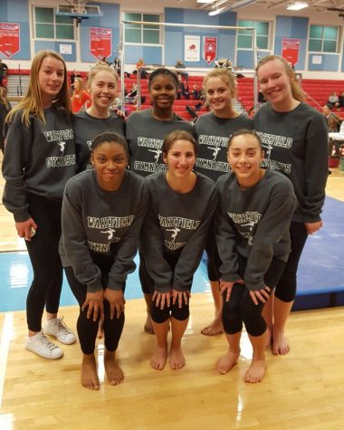 The Warriors Gymnastics Team Continues To Impress