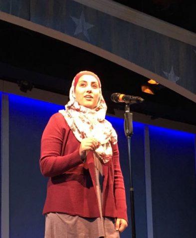 Student Spotlight: Poet Shahad Almaharmeh Commands the POL Regional Stage