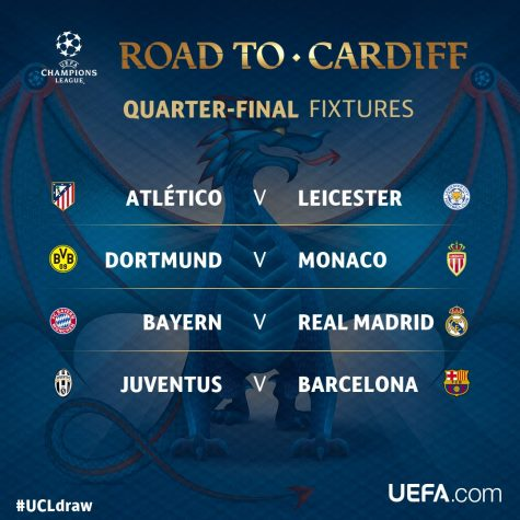 Champions League Quarter Final Predictions the road to Cardiff!