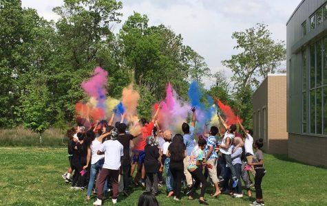 Asian Club Celebrates Spring with the Holi Festival