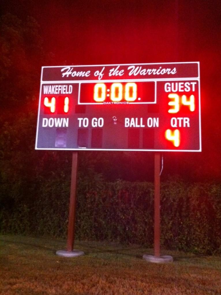 Warrior Gridiron earns their second win at home.