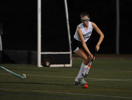 Stick skills are required to win any field hockey game.