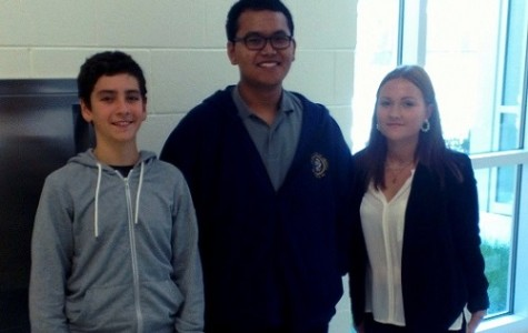 We are excited about this opportunity to experience American culture. Luiza is pictured here with two other foreign exchange students: Diego from Spain, and Muhammad from Indonesia.