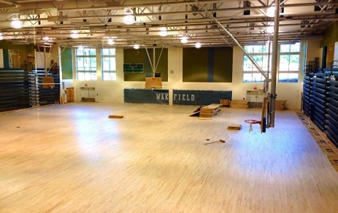 The gym is almost ready.