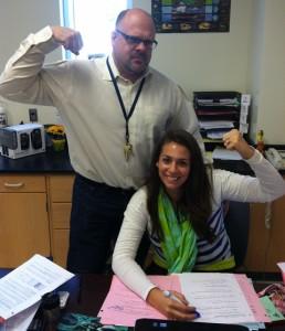 Our Very Own Teacher Athletes