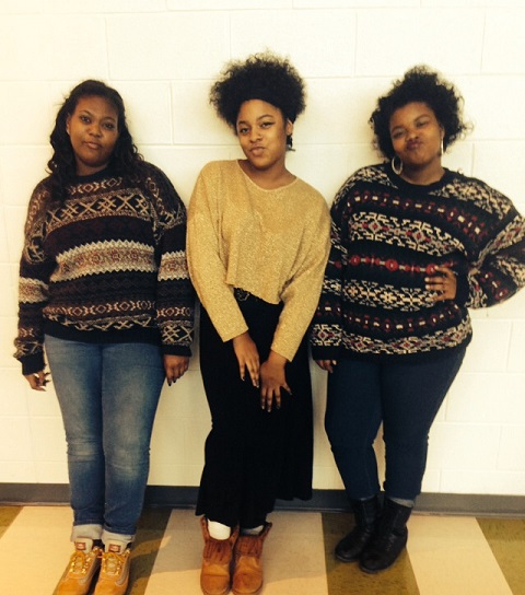 Courtney, Maya , and Kirsten are fabulous and rocking their natural hair.