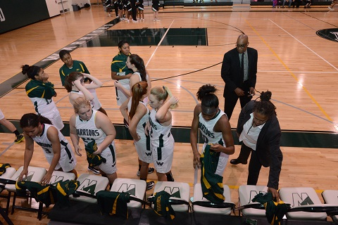 #whs Girls' Basketball has a stellar 2013-2014 season. We are 10 wins and 9 losses as of press time.