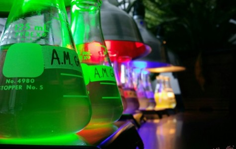 Biology Lab In Light