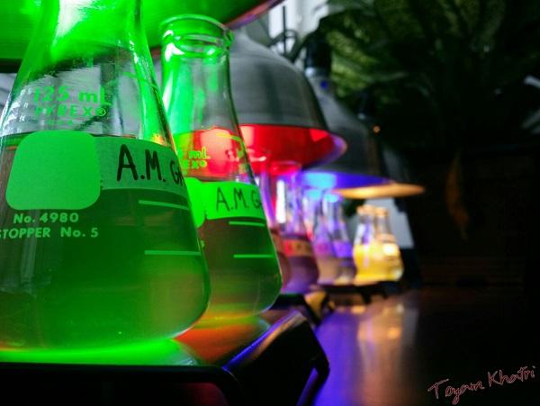 Biology Lab In Light