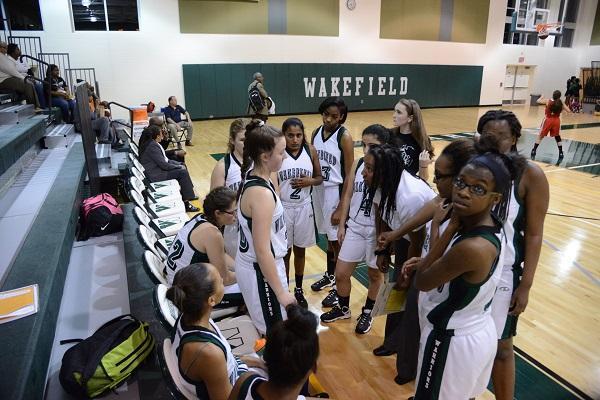 Coach Zee keeps the team focused.