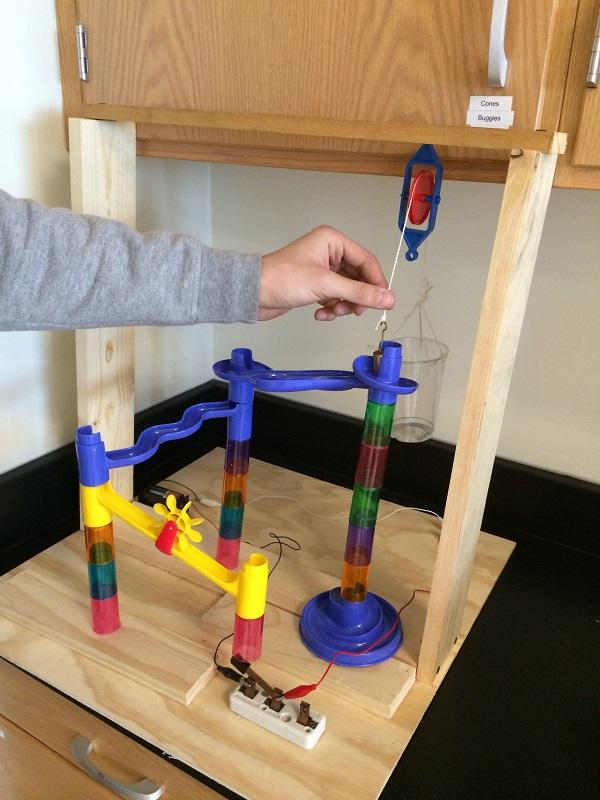 Look what you can build with science!