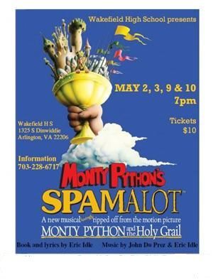 SPAMALOT comes to Wakefield!