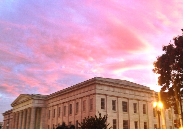 Sunset+over+the+National+Gallery+of+Art+in+the+heart+of+DC.