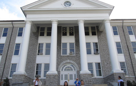 Wilson Hall includes a large auditorium for performances and currently serves as JMU's center for career planning and academic advising.