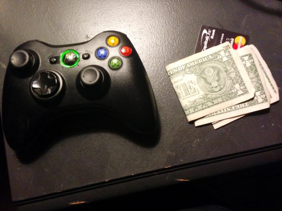 Most gamers have their money in their hands more than their controllers #nowadays.