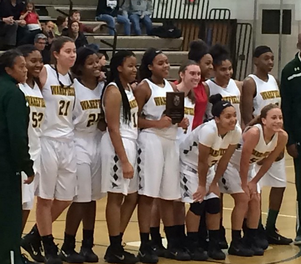 2nd place for the first time in almost a decade! Congrats @WKgirlshoops
