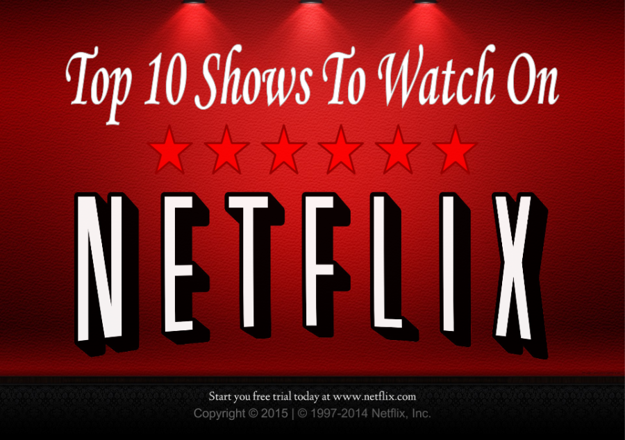 Top Ten Shows To Watch On Netflix