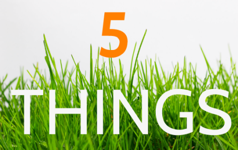 Five Things To Do Over Spring Break