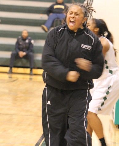Coach Marcia Richardson.