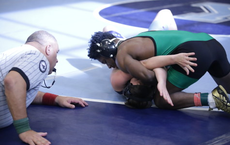 De'Angelo at the Yorktown meet. He makde it to a career high 60 wins on Senior Night this year.