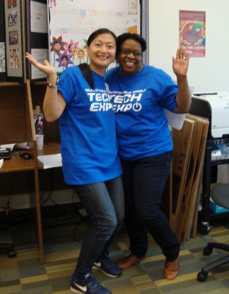 Tech Expo had the best volunteers!