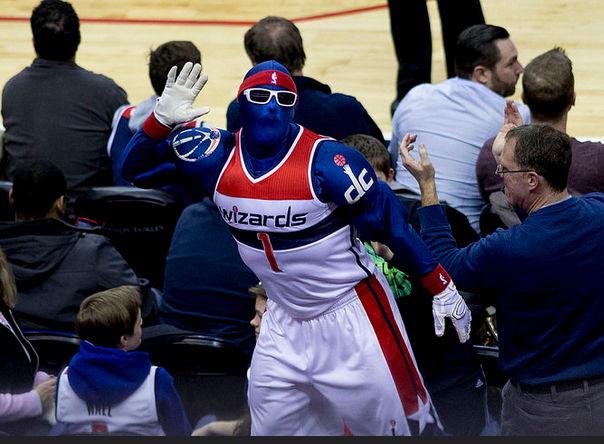 The Washington Wizards G-Man is ready for the 2015-2016 season. Are you?