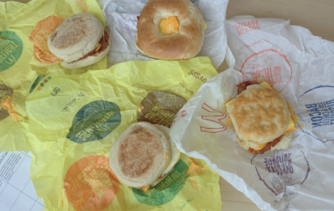 McDonalds breakfast options are laid out for you.