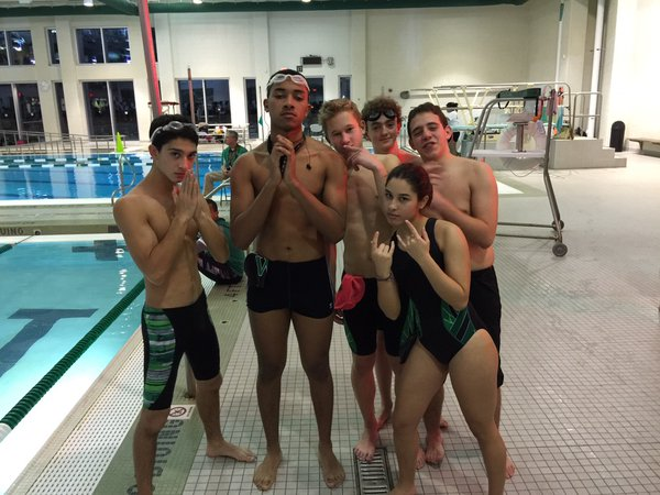 The boys are ready for the next meet.