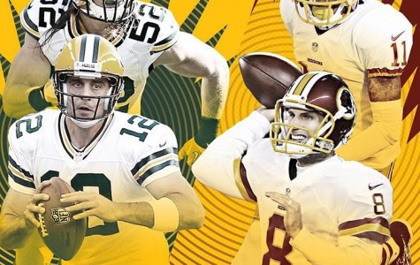 Green Bay Packers @ Washington Redskins for Wild Card Round