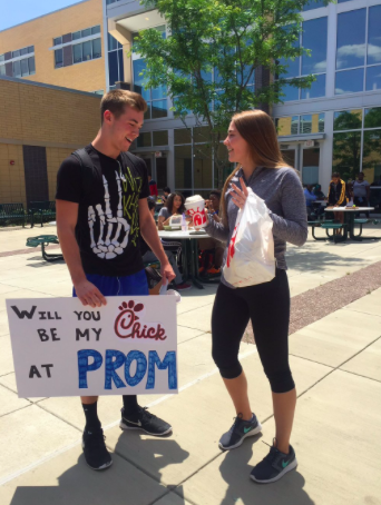 Chris asks Hailey to prom using her love of Chick-Fil-A and clever word play.