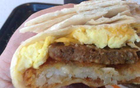 Mmmmmm....Taco Bell for breakfast hits the spot.