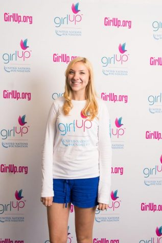 Becca attends the Girl Up convention!