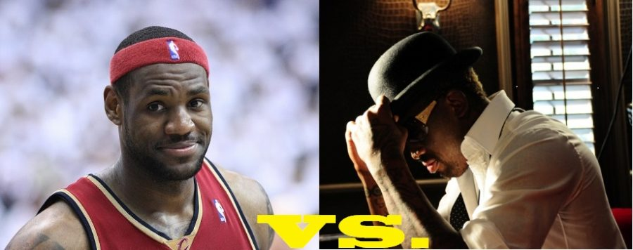 LeBron+James+and+Dennis+Rodman+Endorse+Their+Respective+Candidates