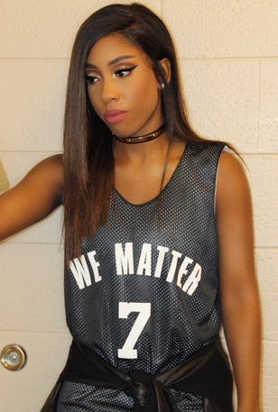 76ers Singer Denied Stage for Shirt She Was Wearing