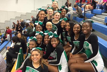 Varsity Cheerleaders Make It to Regionals 2nd Year in a Row