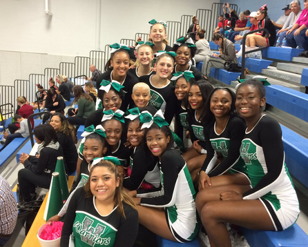 Varsity Cheerleaders Make It to Regionals 2nd Year in a Row