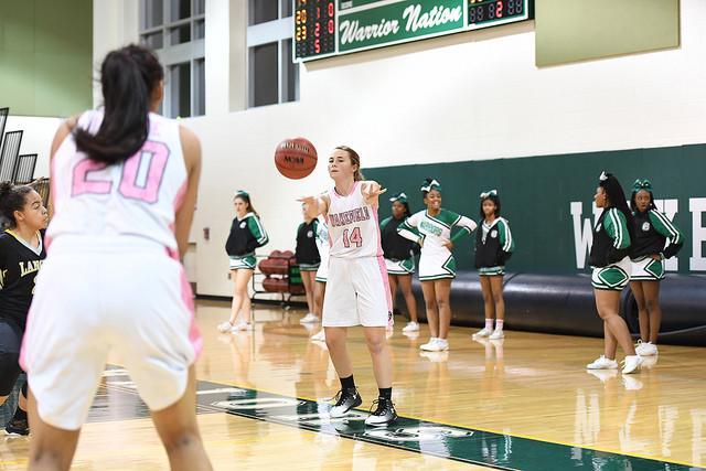 Girls Varsity Basketball Has Stellar Run on Home Court