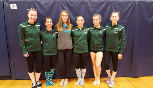 Gymnastics Team Makes History