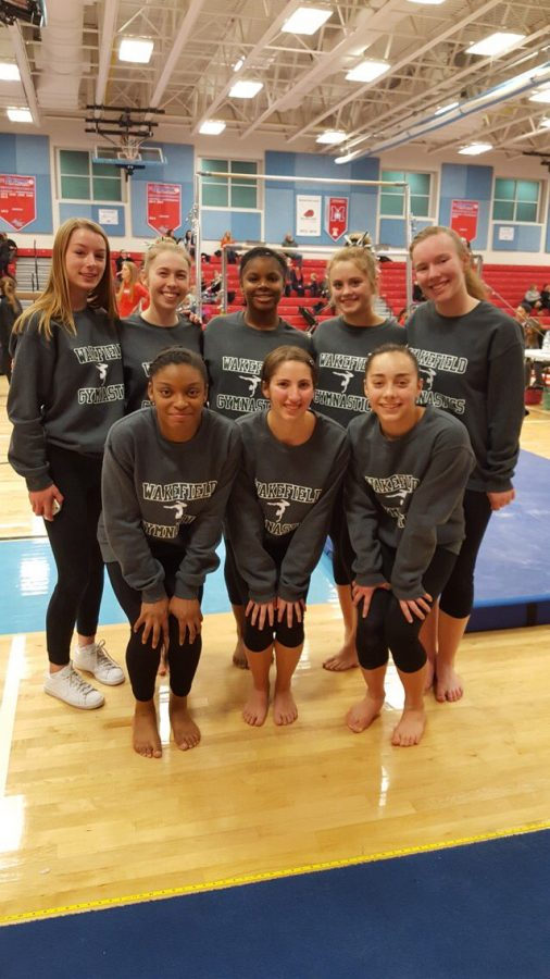 The+Warriors+Gymnastics+Team+Continues+To+Impress