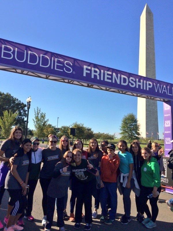 Wakefield%27s+Best+Buddies+on+the+DC+Friendship+Walk.
