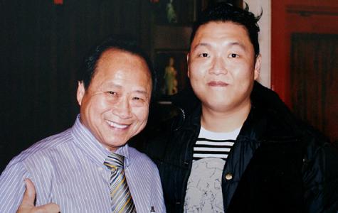 You might meet PSY at Peking Gourmet Inn. #iconic