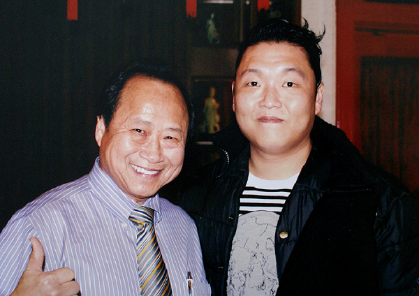 You might meet PSY at Peking Gourmet Inn. #iconic