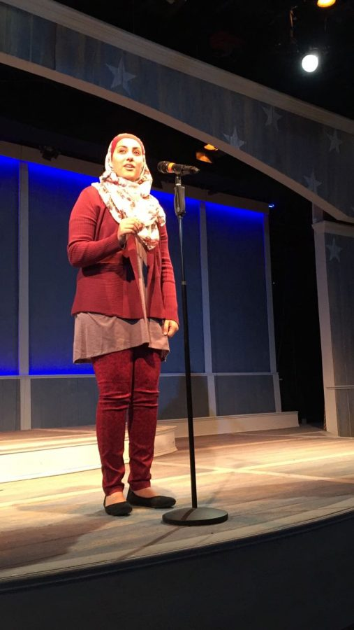 Shahad+seconds+before+she+begins+reciting+her+poem.